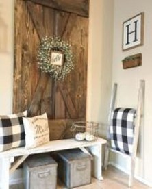 Cute Rustic Farmhouse Home Decoration Ideas 31
