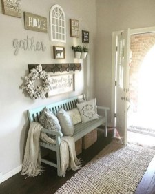 Cute Rustic Farmhouse Home Decoration Ideas 48