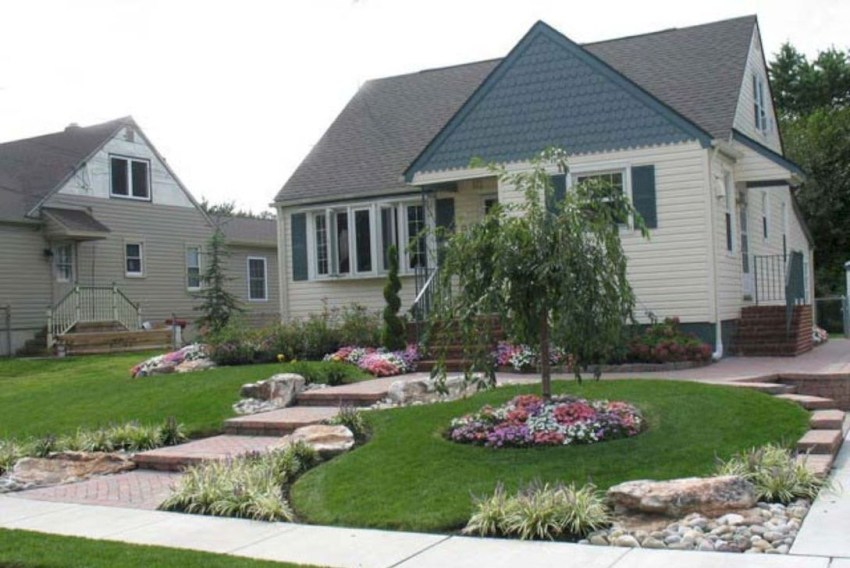 Gorgeous Front Yard Landscaping Remodel Ideas 21