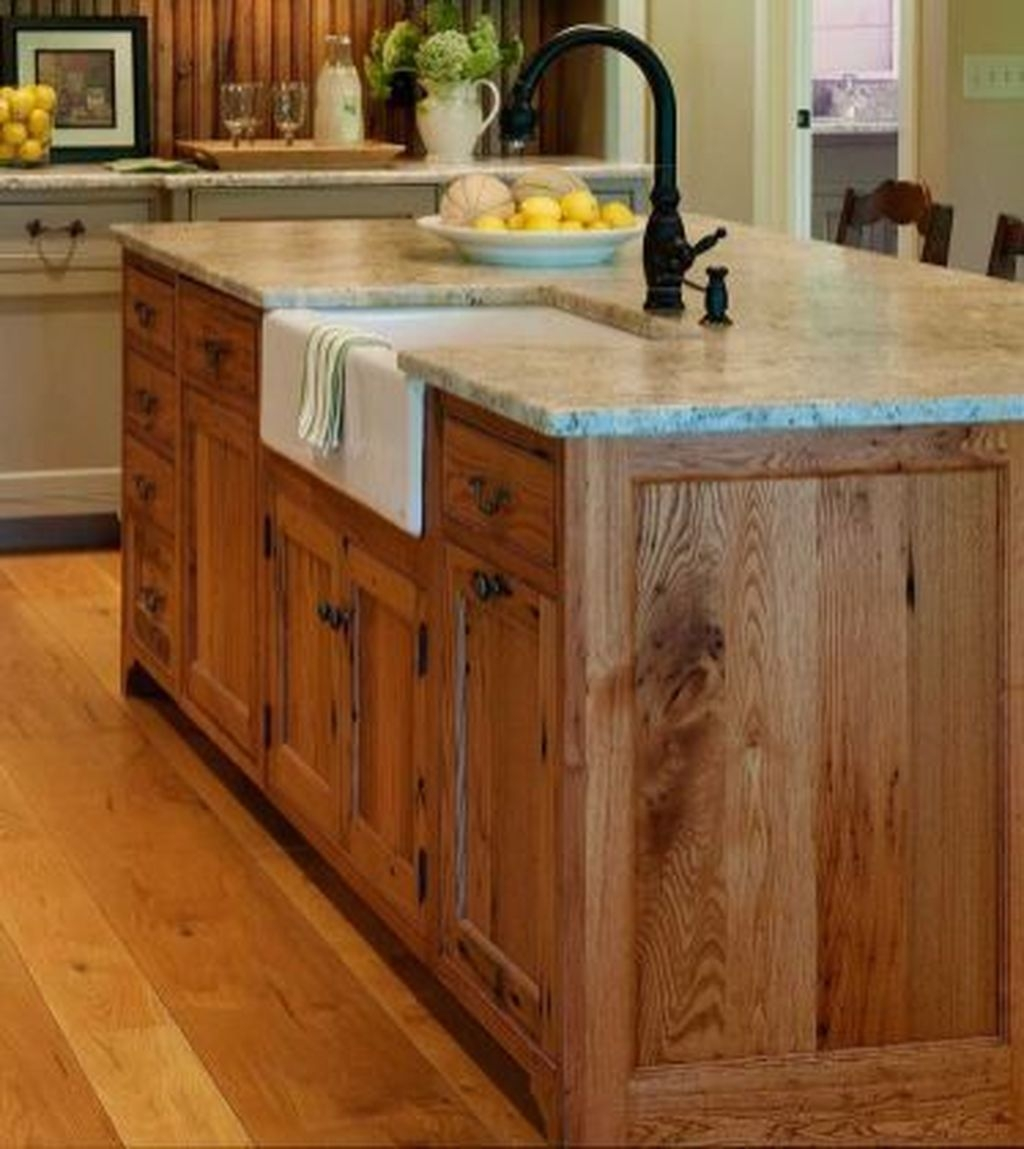 Gorgeous Rustic Farmhouse Kitchen Decoration Ideas 07