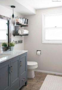 Modern Farmhouse Bathroom Vanity Design Ideas 38
