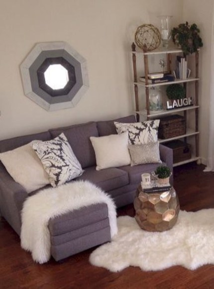 Modern Farmhouse Living Room Decoration Ideas 12