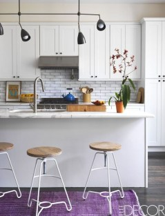 Simple Minimalist Small White Kitchen Design Ideas 45