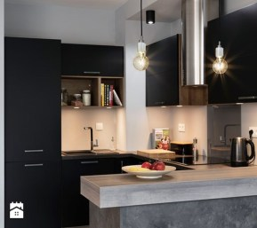 Stunning Luxury Black Kitchen Design Ideas 10