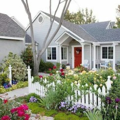 Totally Inspiring Front Yard Fence Remodel Ideas 09