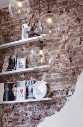 Adorable Exposed Brick Walls Bedrooms Design Ideas 07