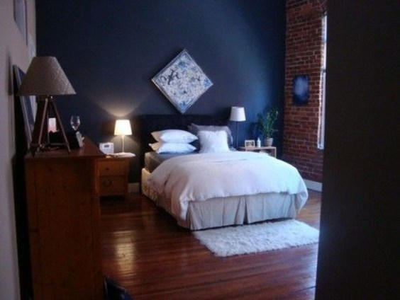 Adorable Exposed Brick Walls Bedrooms Design Ideas 23