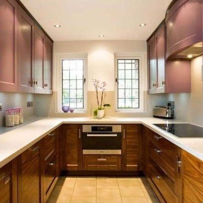 Astonishing U Shaped Kitchen Remodel Ideas 10