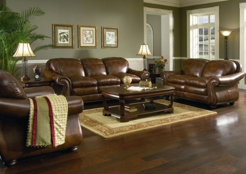 Beautiful Leather Couch Decorating Ideas For Living Room02