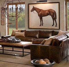 Beautiful Leather Couch Decorating Ideas For Living Room12