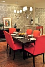 Cheap And Minimalist Red Accent Chair Dining Ideas 44