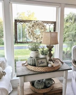 Cozy Modern Farmhouse Style Living Room Decor Ideas 48