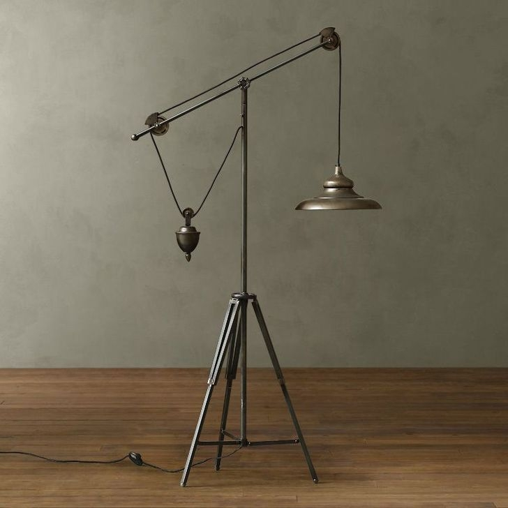 Creative Industrial Floor Lamps Design Ideas 19