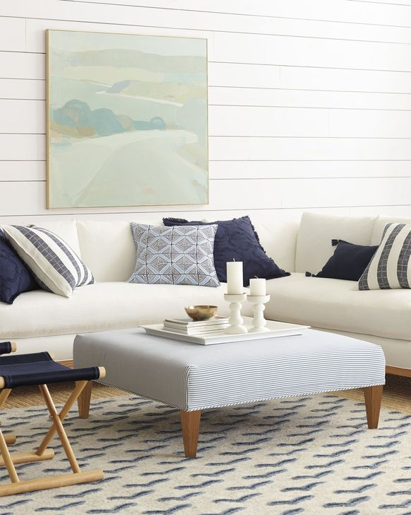 Gorgeous White And Blue Living Room Ideas For Modern Home 28