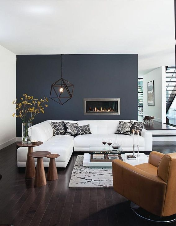 Modern Apartment Décor For Living Room 06
