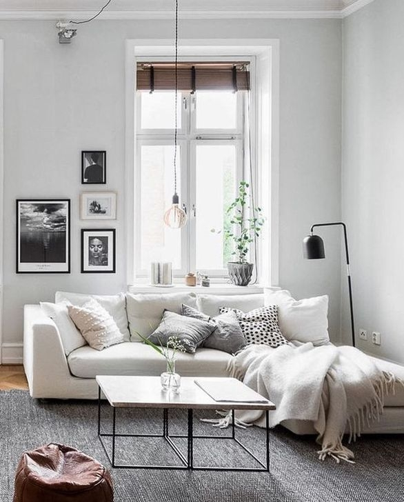 Modern Apartment Décor For Living Room 24