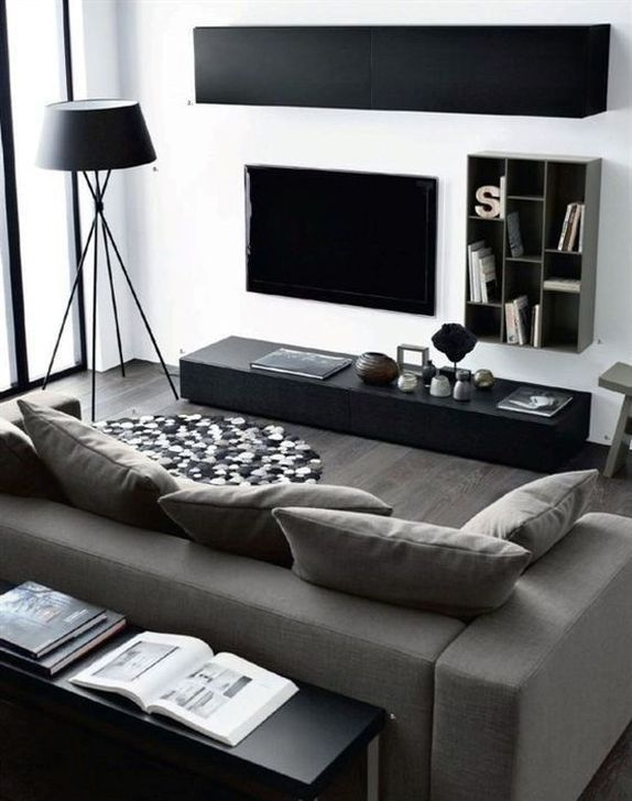 Modern Apartment Décor For Living Room 42