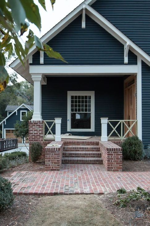 Stunning Exterior Paint Colors Red Brick Ideas 13