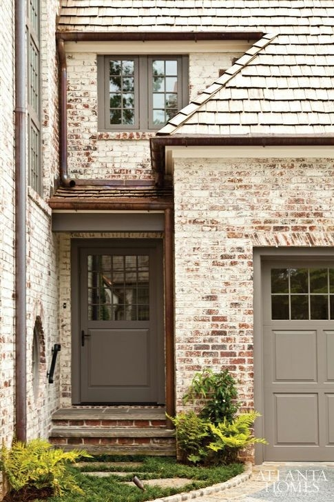 Stunning Exterior Paint Colors Red Brick Ideas 41