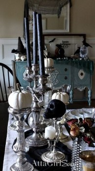 Amazing Halloween Black Decor Ideas To Scary Party Ever 45