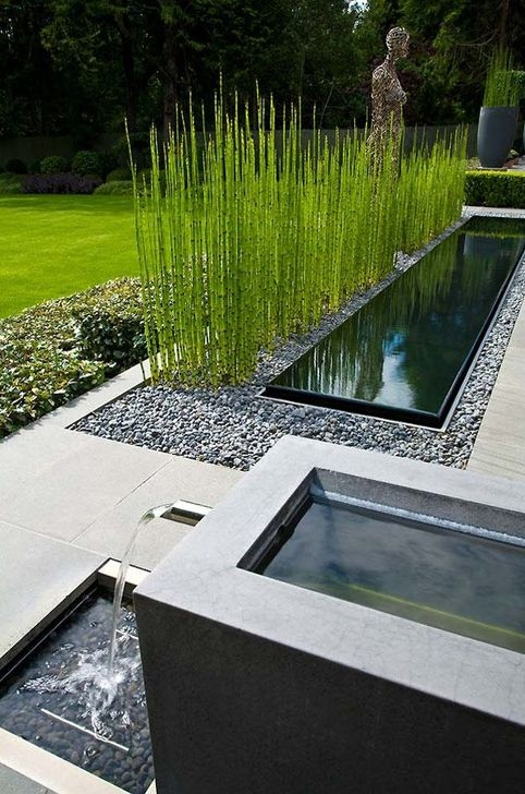Amazing Modern Water Feature For Your Landscape04