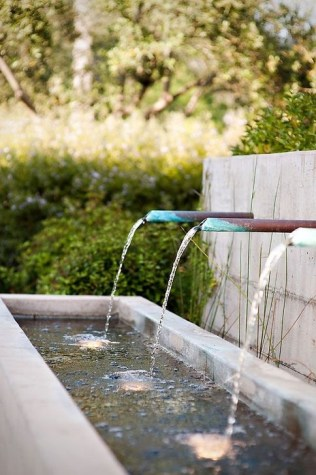 Amazing Modern Water Feature For Your Landscape26