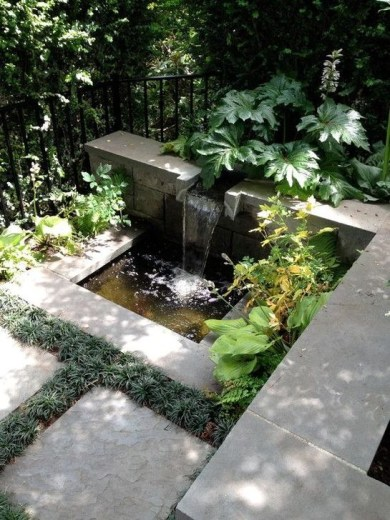 Amazing Modern Water Feature For Your Landscape45