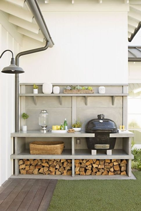 Awesome Outdoor Kitchen Design Ideas 40