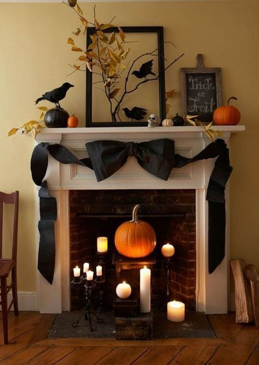Cozy Vintage Halloween Decoration For Outdoor Ideas 39