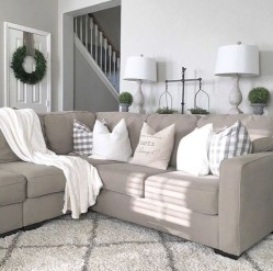 Fantastic Living Room Farmhouse Style Decorating Ideas 24