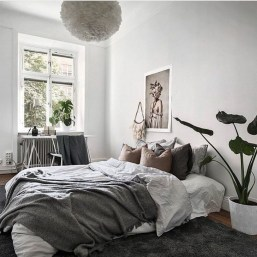 Gorgeous Grey Bedroom Ideas To Repel Boredom02
