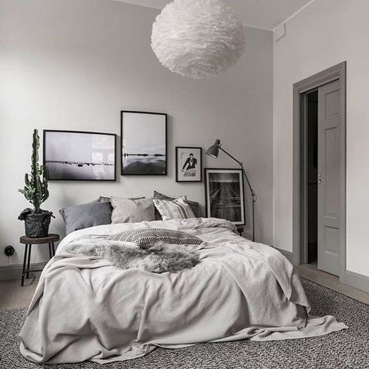 Gorgeous Grey Bedroom Ideas To Repel Boredom06