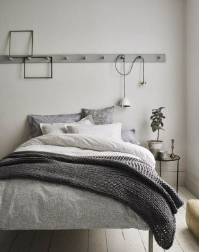 Gorgeous Grey Bedroom Ideas To Repel Boredom16