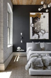 Gorgeous Grey Bedroom Ideas To Repel Boredom18