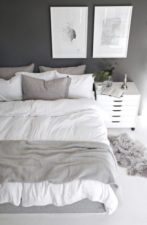 Gorgeous Grey Bedroom Ideas To Repel Boredom41