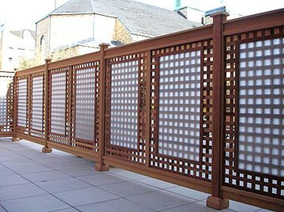 Modern Beautiful Privacy Fences Ideas29