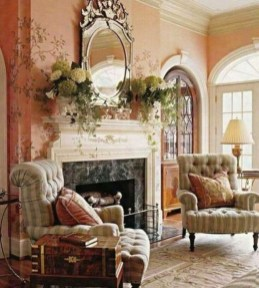 Popular French Country Living Room Decor Ideas 33