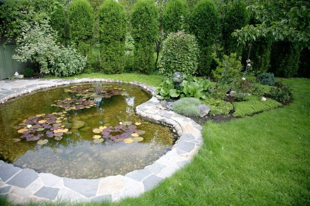 Pretty Backyard Pond Design Ideas10 Copy