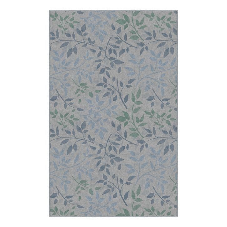 Romantic Floral Printed Rug Ideas To Beautify Your Floor10
