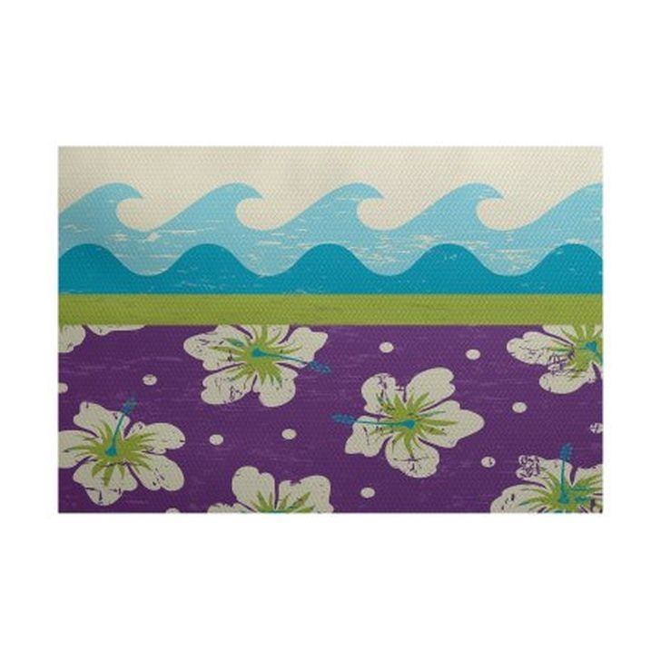 Romantic Floral Printed Rug Ideas To Beautify Your Floor17