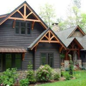 Brilliant Modern Farmhouse Exterior Design Ideas06