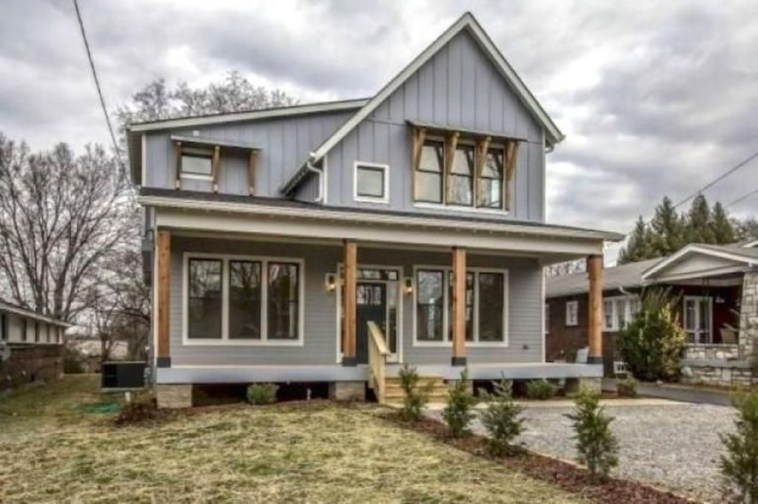 Brilliant Modern Farmhouse Exterior Design Ideas36