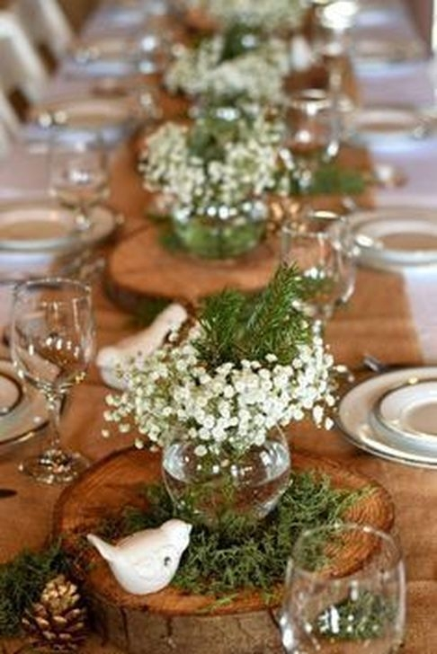 Charming Winter Themed Baby Shower Decoration Ideas31
