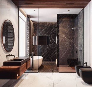 Cozy Bathroom Design And Decor Ideas06