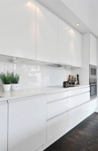 Cozy White Kitchen Design And Decor Ideas12