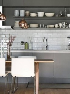 Cozy White Kitchen Design And Decor Ideas13