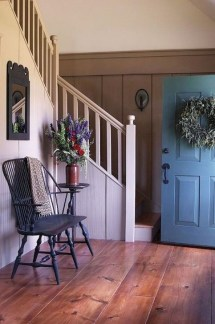 Creative Farmhouse Entryway Decorating Ideas18