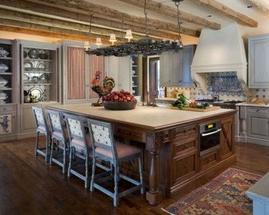 Magnificient French Country Kitchen Design And Decor Ideas04