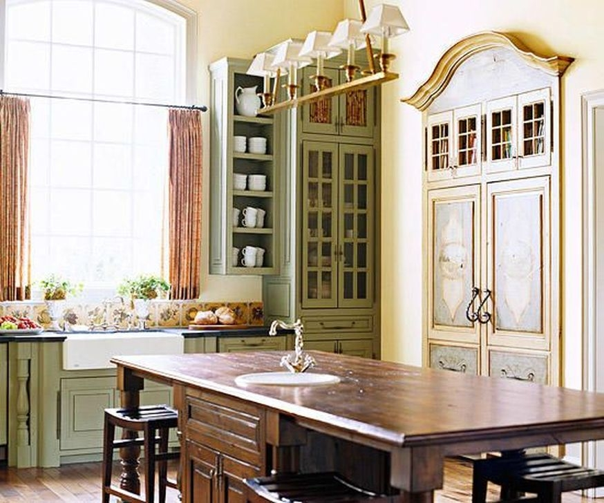 Magnificient French Country Kitchen Design And Decor Ideas06