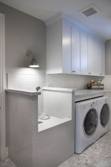 Popular Farmhouse Laundry Room Decorating Ideas14